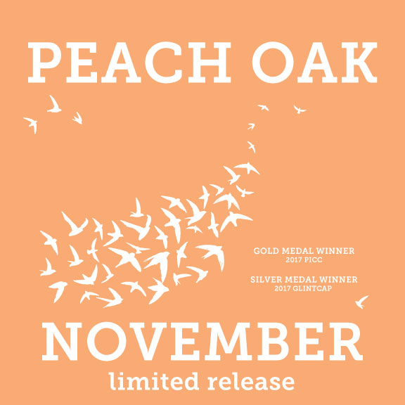 Peach Oak Limited Release November 2017