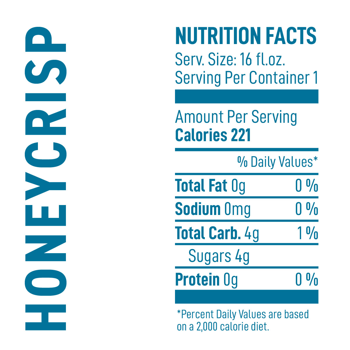 Honeycrisp Nutrition Facts