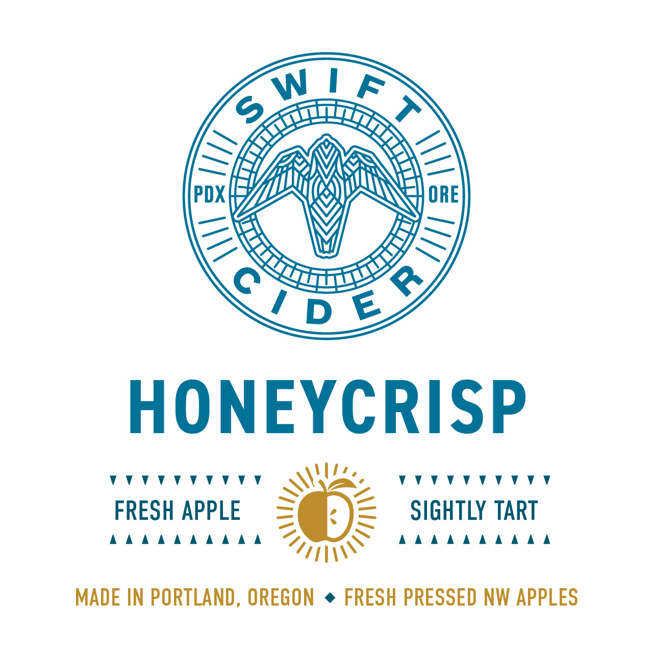 Honeycrisp Swift Cider Flavor Badge